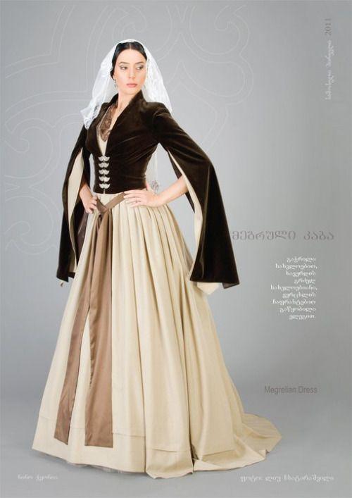 """Samoseli Pirveli"" - Georgian National Costume. Megrelian Dress - Collection 2011."