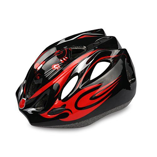Kids Cycling Helmet HiCool Riding Helmet MultiUse Kids Helmet for Cycling and Outdoor Sports BlackRed standard ** Find out more about the great product at the image link.