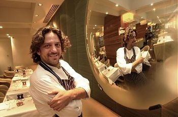 One of my favorite chefs Giorgio Locatelli, and one of my favorite restaurants Locanda Locatelli, for some true robust Italian food.......