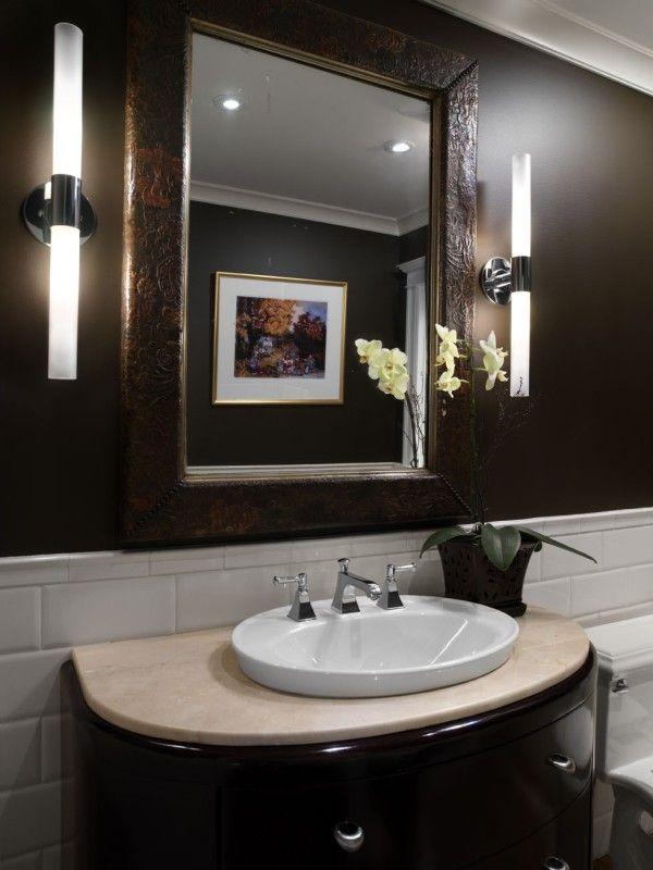 41 Best Tile Work Behind Bathroom Mirror Images On Pinterest Bathroom Ideas Room And Bathroom