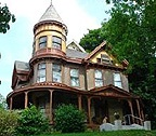 Lafayette house, I love walking past this house on my runwalks