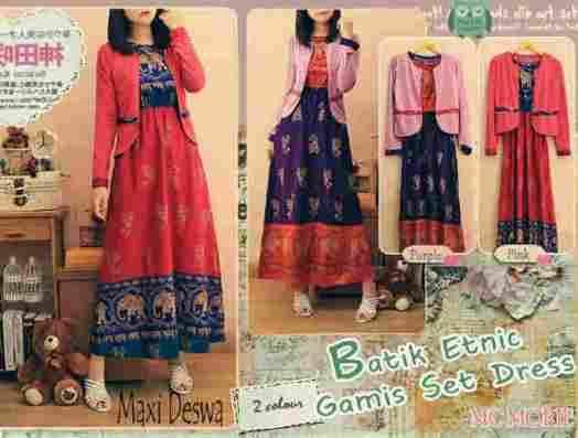 Busana Batik Modern Deswa Online dan Murah - http://www.butikjingga.com/busana-batik-modern-deswa