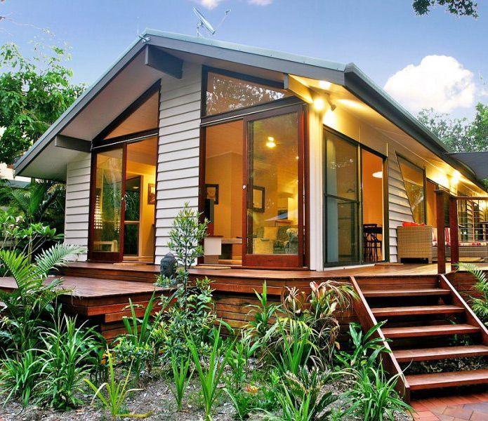 69 mejores im genes de casa en pinterest caba as casas - Casas de madera pequenas ...