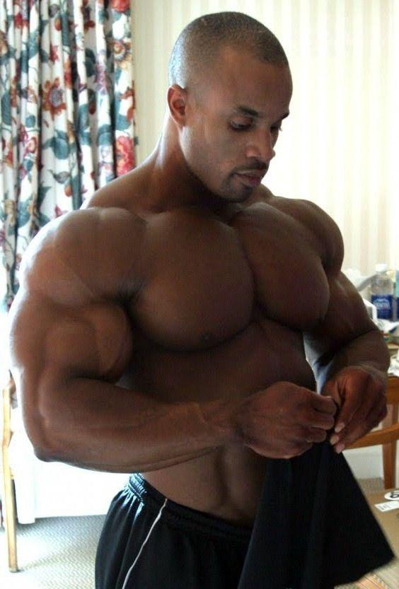 bodybuilders male Gay black