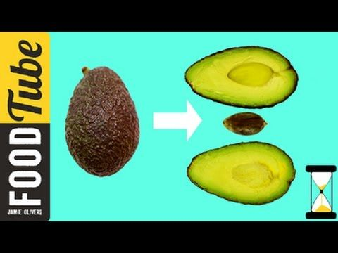 How To De-stone an Avocado | Jamie's 1 Minute Tips