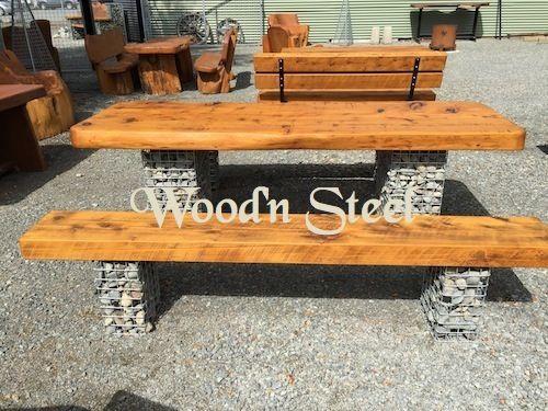 Wood'n Steel Furniture, Signs, Shelters, Macrocarpa