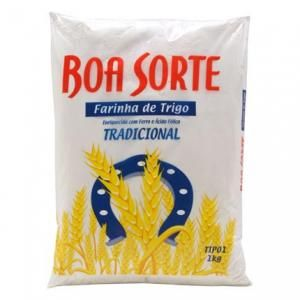 Farinha de trigo tradicional Boa Sorte