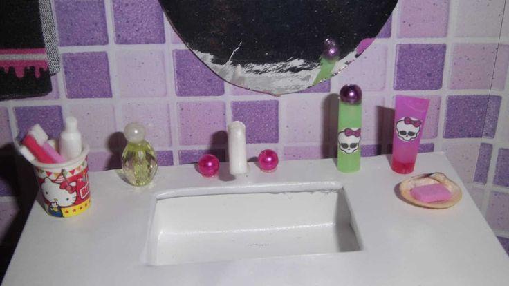Como fazer um perfume, escova e pasta de dente, xampu e sabonete para bo...