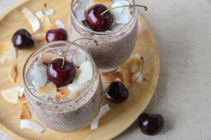 Kokosový chia puding recept