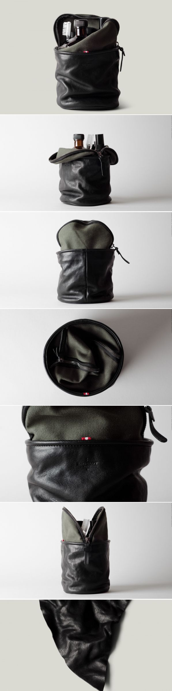 #hardgraft Refresh Dopp Kit . Black Army