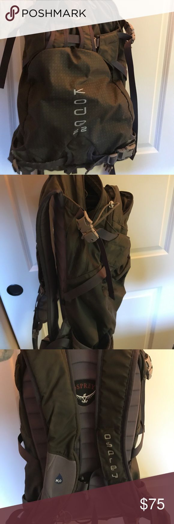 Osprey Backpack Kode 22 Liter pack. A great pack for a day hike, or a short ski tour. Skis can attach on the side. osprey Bags Backpacks