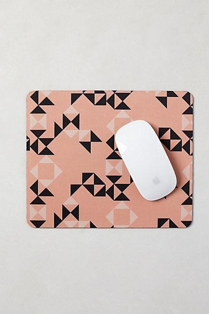 Geo Copula Mouse Pad / Anthropologie
