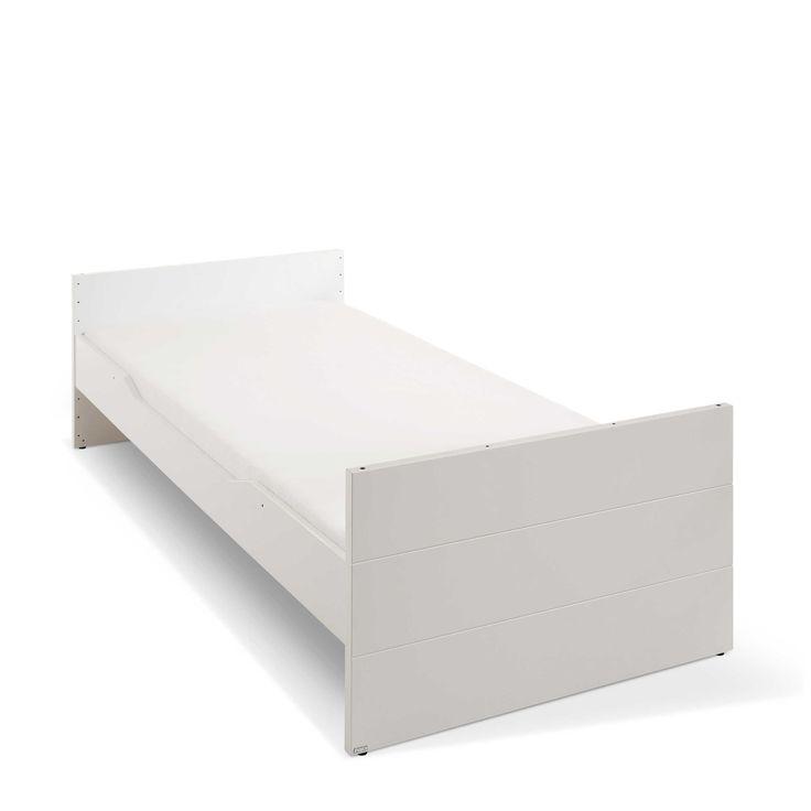Paidi Bett Fiona 90 x 200 cm Weiß Kunststoff