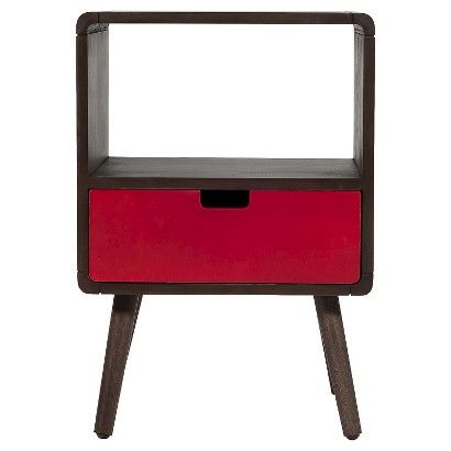 1 Drawer Mid-Century Kids Nightstand - Pillowfort™