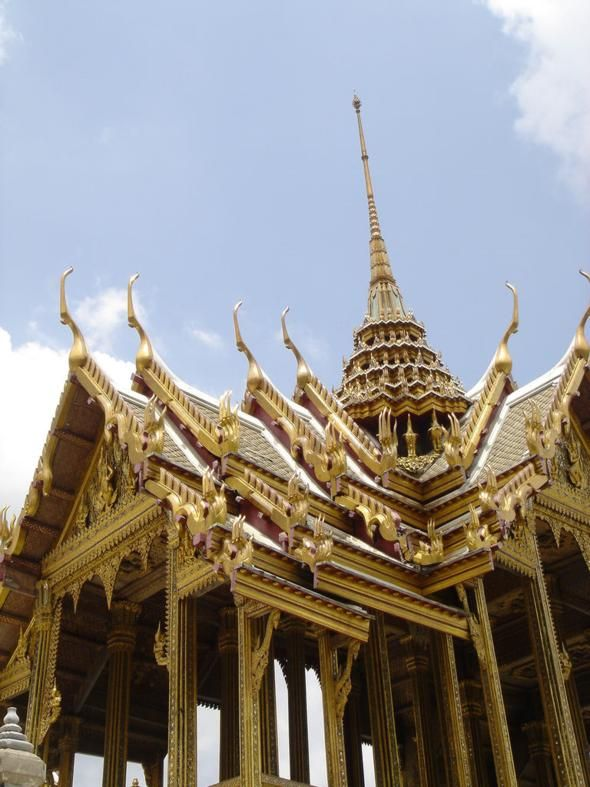 Grand Palace, Bangkok, Check I've been there. One down a million more to see.