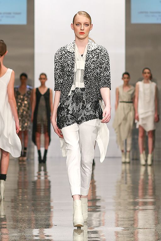 taylor 'Incision' Collection at NZFW - Netti Jacket in Litmus, Envelope Shirt, Camber Singlet and Cogent Pants