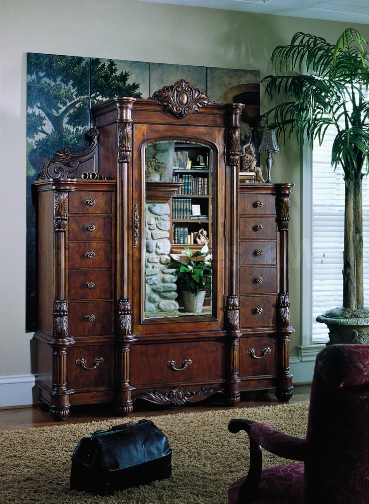1000 Images About Bedroom Set Pulaski Edwardian On Pinterest Pedestal Dining Table Vanity