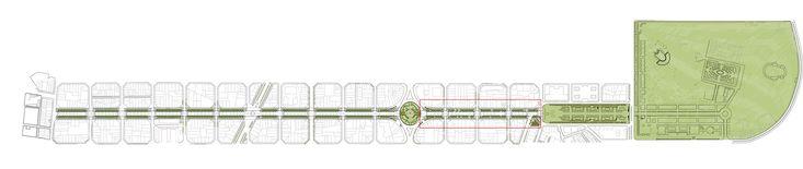 Paisaje y Arquitectura: Remodelación del Paseo de St Joan, un nuevo corredor verde urbano por Lola Domènech,Situación