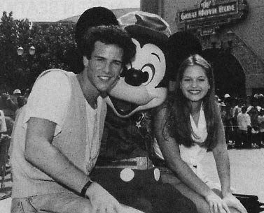 Scott Weinger and Candace Cameron - Behind the Scenes of Season 6 Episode: The House Meets the Mouse.