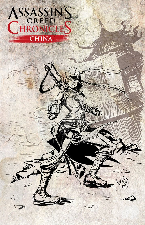 Assassins creed Chronicles Shao Jun by terminus70.deviantart.com on @DeviantArt