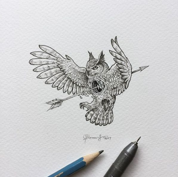 """""""Geometric beasts"""" is Illustrator's @kerbyrosanes fascinating project.  Represented by animals escaping out of their geometric forms, the series encourages us to unleash the """"beast"""" within us - risk taker, wild, free and adventurous."""