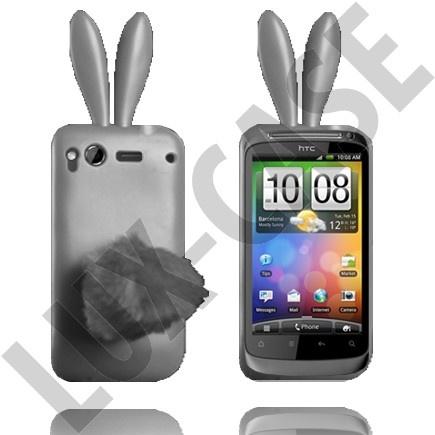 HTC Desire S Harmaat pupu suojakuoret!
