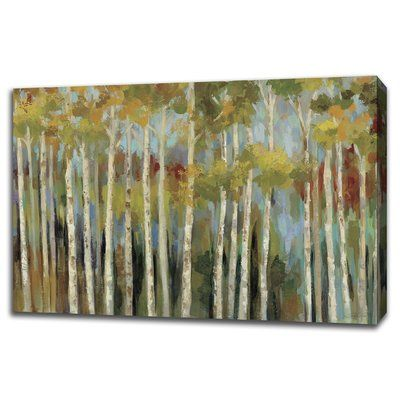 Tangletown Fine Art 'Young Forest III' Painting Print on Gallery Wrapped Canvas