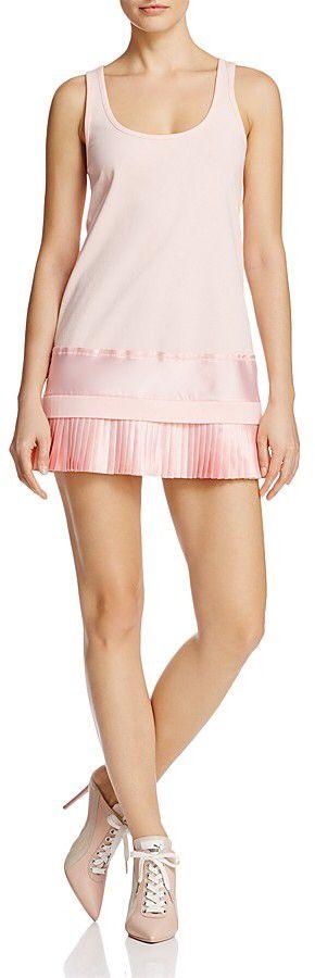 FENTY Puma x Rihanna Pleated Hem Mini Dress