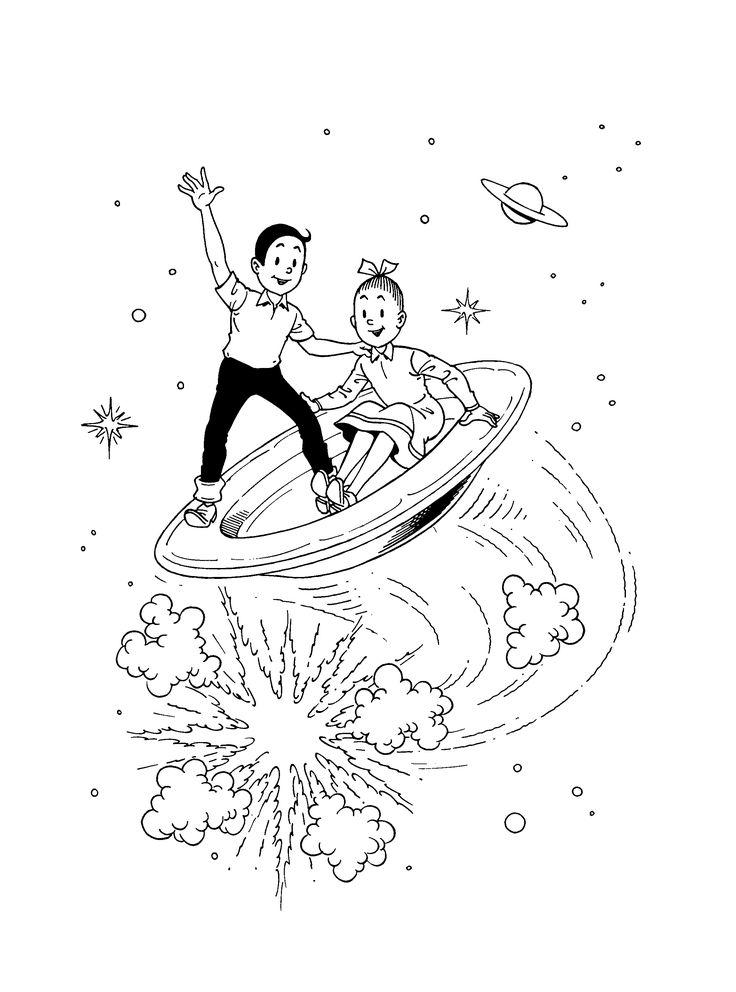 Suske en Wiske op een vliegende schotel