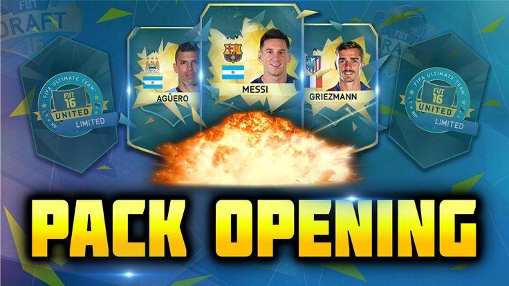 Fifa 16 | Pack Opening [#1] | Wielkie paczki z FUT DRAFT - Wesołe dwa tr...