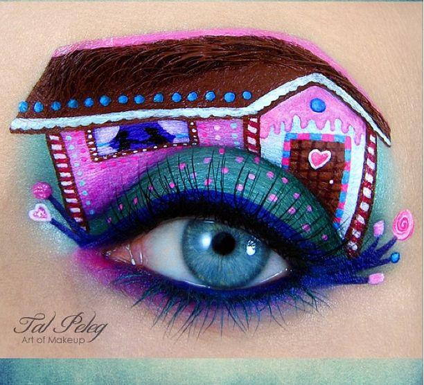 Makeup Artist Tal Peleg #eyeshadow