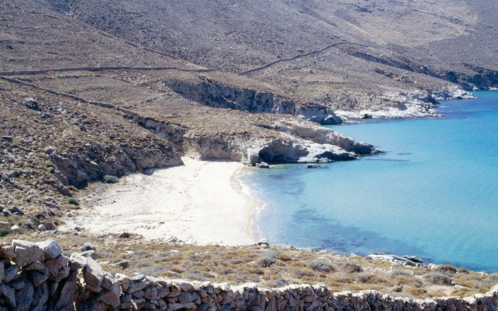 Best Beaches in Greece: Vagia, Serifos