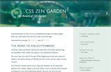CSS Zen Garden. Showing what can be done with CSS