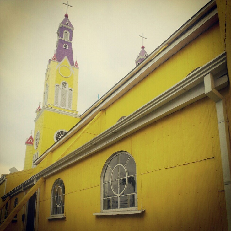 Fabulous Church of Castro, Chiloe