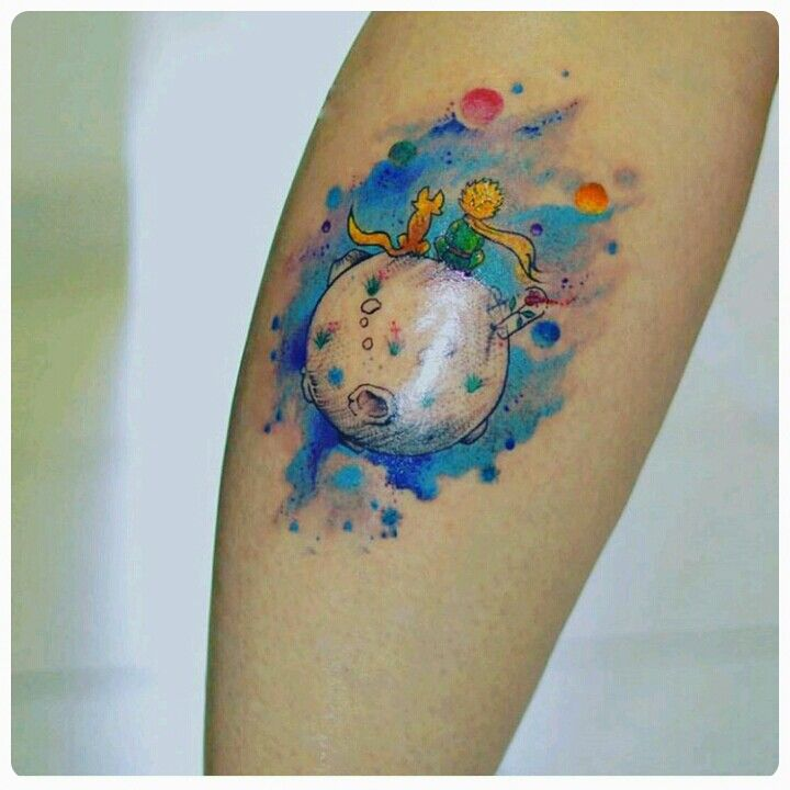 O pequeno príncipe  Artista: @inktracetattoo for #Instagram