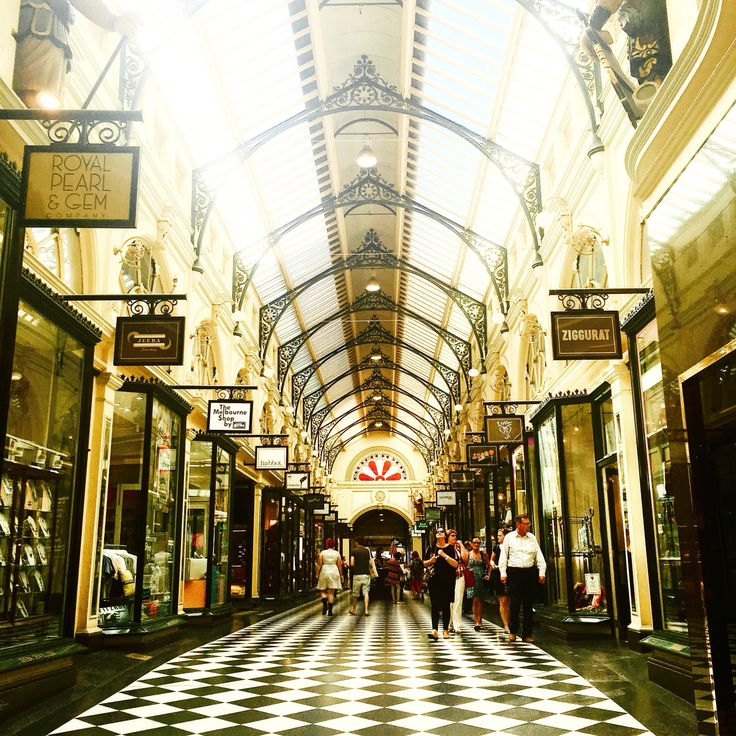 Royal arcade is a shopping arcade that located in Central Melbourne, Victoria
