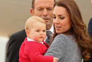 Prince George Makes One Last Appearance as Royal Family Departs Australia