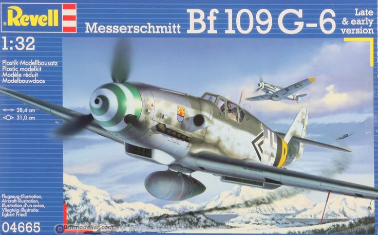 My current build for the mag bf-109g6 from Revell