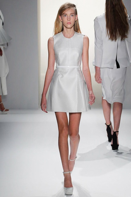 Look 17 Calvin Klein Collection Spring 2013: Collection Spring, Klein Collection, Calvin Klein, Summer Fashion, Ss2013, Fashion Dresses, Fashion Week, New York Fashion, Spring 2013