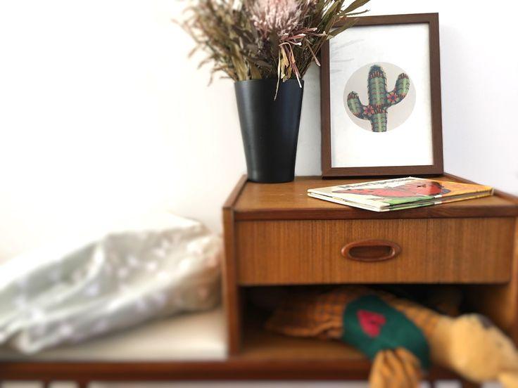 Kids Prints Cactus Mexican Huichol