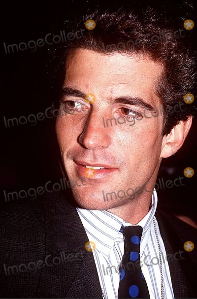 Photos and Pictures - John Kennedy Jr and Date Photo:john Barrett/Globe Photos Inc
