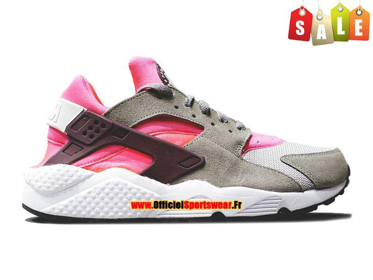 Nike Wmns Air Huarache GS - Nike Sportswear Pas Cher Chaussure Pour  Femme/Fille Gris