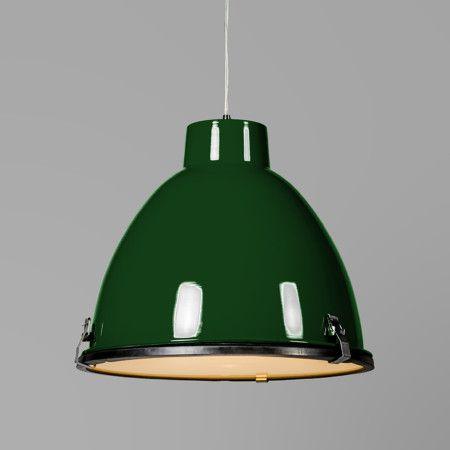 Lampa wisząca Anteros 38 zielona