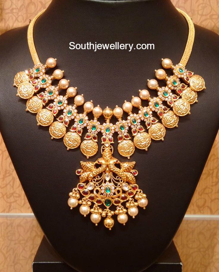Antique Kasu Necklace