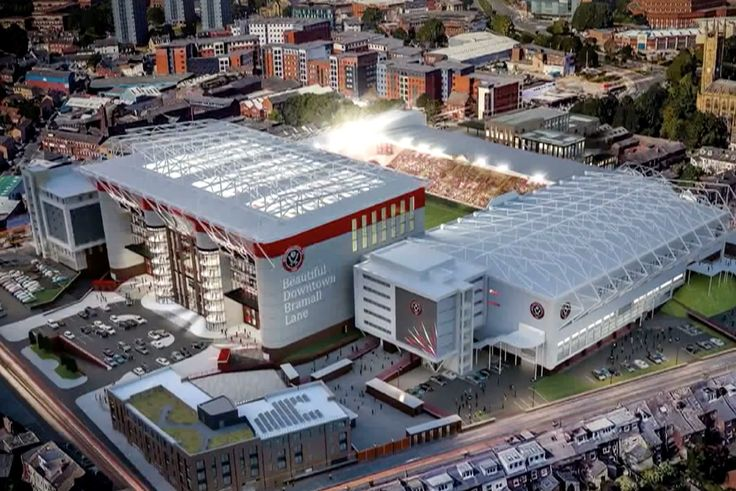 Sheffield United submits plan for South Stand