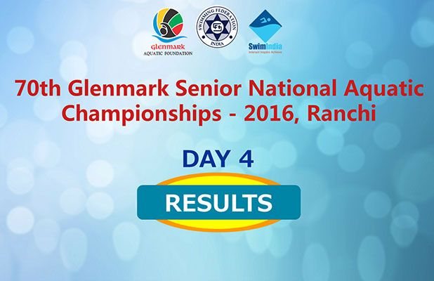 The Day 4 Final Results are Out! Stay on for all Results! http://swimindia.in/nationals2016/nsjj_results/70th-glenmark-senior-national-aquatic-championships-2016-ranchi #NACIND #SwimIndia