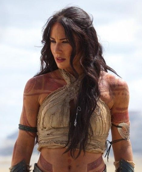 Lynn Collin's hair in John Carter was amazing, though the movie not so much