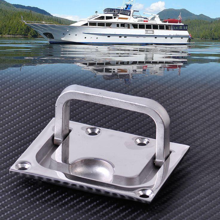 新しい316ステンレス鋼用ボートマリンキャラバンフラッシュハッチロッカーキャビネットリフトプルハンドルハードウェア