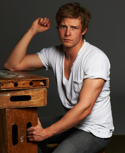 Chandler - a young Hunter Parrish