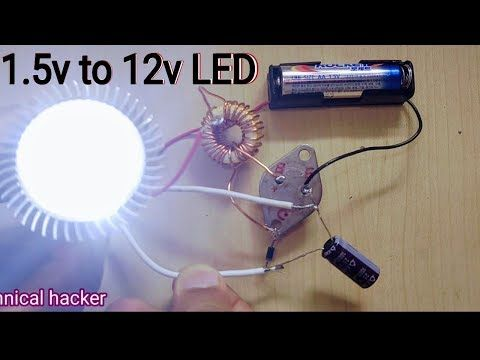 My Testing Booster 3 7v To 12v 13 7v Dc Converter Youtube 12v Led Led Led Bulb